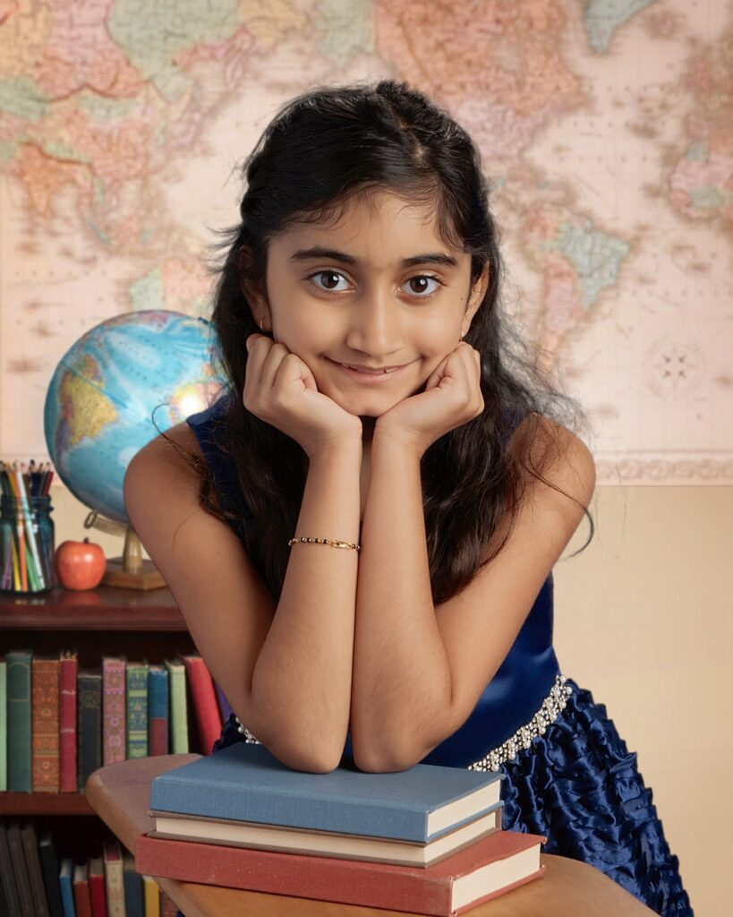 Shreya Gupta - author of Flamingo Feet