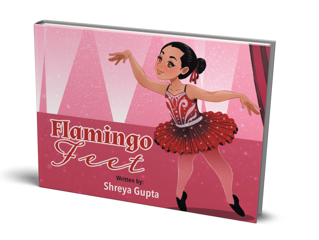 Flamingo Feet by Shreya Gupta